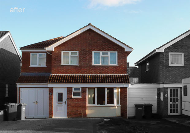 Two Storey Side And Rear Extension Maddox Design Ltd