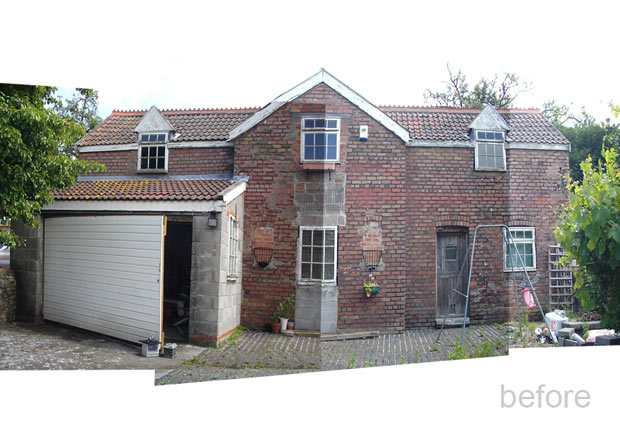 Dilapidated Coach House Conversion